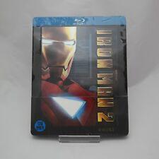 Iron Man 2 (2010, Blu-ray) Steelbook Korean Edition / damaged