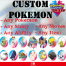 ✨ Custom Any Pokemon ✨ Customization for Shiny 6IV Pokemon Sword and Shield
