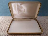 Vintage AMCO JEWELS GOLD JEWELRY BOX