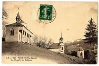 CPA 74 Haute-Savoie Megève La Chapelle du Calvaire