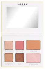 Lorac Malibu Free Spirit Eye & Cheek Palette 4 Eye Shadow 2 Highlighter R$24 Nib