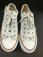 CONVERSE All Star White Canvas womens size 6