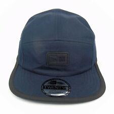 New Era Cap Men's Casual Classic Logo Patch Navy Tonal 5 Panel Adjustable Hat