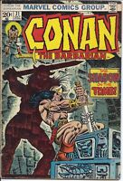 Conan the Barbarian #31 | October 1973 | Marvel Comics