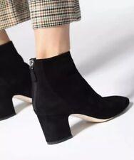 L.K. Bennett Alyss Black Suede Boots Size EU 36