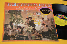 THE NATURAL FOUR LP NIGHTCASER 1°ST ORIG ITALY 1976 NM TOP DISCO DANCE