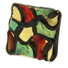 GlassOfVenice Gaudi Murano Modern Art Adjustable Ring