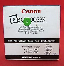 BCI-1002BK 5843A001AA Genuine New Canon Black Ink BJ-W3000 3050 $