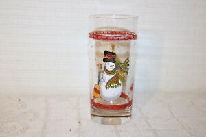 "SANGO SWEET SHOPPE CHIRSTMAS SUE ZIPKIN 3041 14 oz 6 1/4""h Water Glasses (3)"