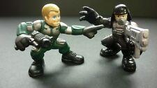 """Super Hero Squad 2"""" Bundle Action Figures Playskool Marvel GI JOE"""