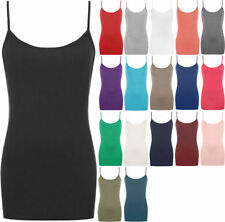 Regular Viscose Solid Tank, Cami Tops & Blouses for Women