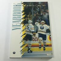 VTG NHL Official Yearbook 1992-1993 - Buffalo Sabres / Greg Brown