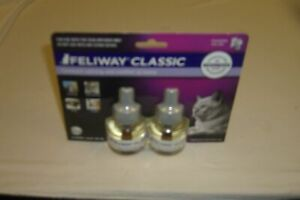 Feliway CLASSIC Diffuser refills  2-pack   expdt  03/2022