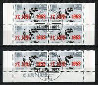 Bund 2342 Viererblock o. Eckrand waagerechtes Paar gestempelt Vollstempel 2003