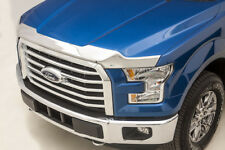 Bug Shield CHROME Deflector Hood Protector (2015 - 2018 F-150) FLUSH Bug Guard