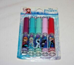 5 Piece Lip Smacker Disney Frozen  Liquid Lip Gloss (see pic for flavors)