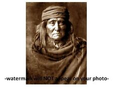 1903 Geronimo PHOTO Portrait Chiricahua Apache Indian Native American, By Curtis