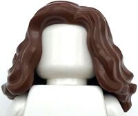 Lego New Flesh Minifig Hair Female Short Wavy with Side Part