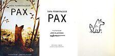 Sara Pennypacker/Jon Klassen~SIGNED & DOODLED BY KLASSEN~Pax~1st Edition+Photos!