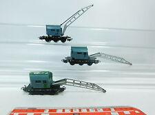 AT123-1# 3x Märklin/Marklin H0/AC hobbista - camion gru Krupp-Ardelt 6804