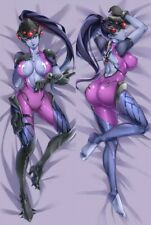 "Overwatch Dakimakura OW Widowmaker Anime Body Pillow Cover Case 150x50 59"" USA"