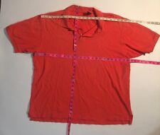 Gap Orange Polo Golf Shirt XL
