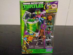 MEGA BLOKS Baxter Mutation Lab Teenage Mutant Ninja Turtles 73 Pieces
