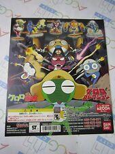 Keroro Gunso Sergeant Frog Keroro Collection Gashapon Machine Paper Card Bandai