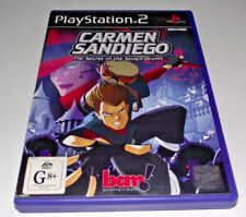 Carmen Sandiego Secret of the Stolen Drums PS2 PAL *Complete*