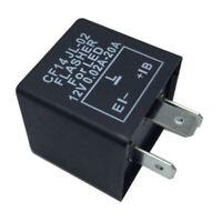 LED Blinker-Relais Lastunabhängig 3-Polig Flasher Blinkrelais CF14 12V 0,02-20A