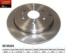 Best Brake GP55151 Rear Disc Brake Rotor