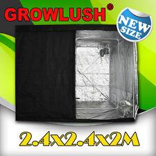 New Hydroponics Grow Box Grow Tent Grow Room 2.4 x 2.4 x 2m for Indoor Growers