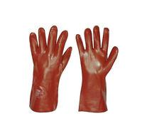 Universeller Schutzhandschuh gegen Laugen, Fette und Öle Gr. 10  PVC NEU
