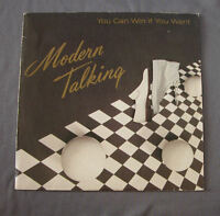 "Vinilo SG 7"" 45 rpm MODERN TALKING - YOU CAN WIN IF YOU WANT"