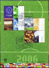 2508 Mit Bonner Ersttagssonderstempel 1a Brd 2006: Umweltschutzmarke Nr 1703