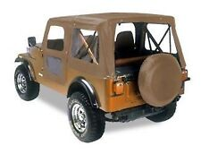 Bestop 1976 - 1986 Jeep CJ-7 Tan Denim Replacement Soft Top 51118-04 Heritage