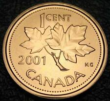 RCM - 2001-p - 1-cent - Proof Like - Uncirculated