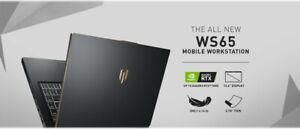 MSI WS65 9TM-1079 (1TB NVME SSD, i9-9880H, RTX Quadro 5000, 4k 100%RGB)