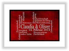 personalisiertes Geschenk für den Partner Liebesgeschenk Liebesbeweis Dekoration