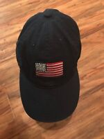 Old Navy US American Flag Patch Polo Baseball Cap Trucker Hat Strapback Blue