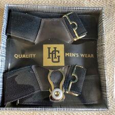 Vintage Gentleman's  Traditional Sock Suspenders/Garters Grey