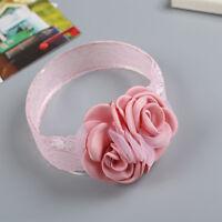 Exquisite Baby Girls Flower Shaped Headband Elastic Hairband Hair Accessories