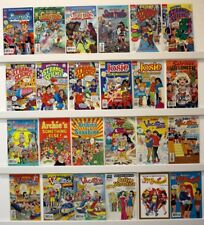 Archie Comics Mixed bag lot of 56 books see below #'s & titles No doubles  VFNM