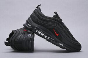 sneakers NIKE AIR MAX 97 SILVER col. NERO Spedizione CORRIERE DHL 24H