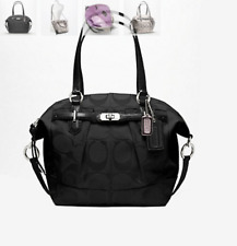NWT COACH F17820 CHELSEA SIGNATURE REPS EMERSON NORTH/SOUTH SATCHEL