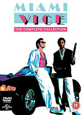 Miami Vice - The Definitive Collection Dvd Box Set New