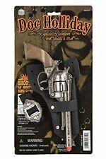 DOC Holliday Toy Cap Gun Pistol Revolver Cowboy Western Holster/Belt New