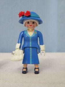 PLAYMOBIL  Series 15 Girls 70026 Reina Isabel II Queen of England, Victoriano