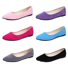 Women Summer Pumps Shoes Dolly Bridal Shoes Leisure Flat Casual Work Walk Shoes