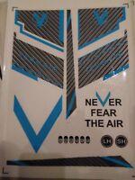 Vermair Cricket Bat stickers 2019 brendon Mcculum Never fear the Air